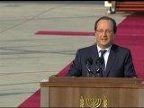 """Hollande au peuple d'Israël: """"Je suis votre ami et je le serai toujours"""" - 17/11"""