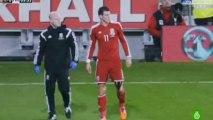 Así fue el accidentado partido de Bale frente a Finlandia