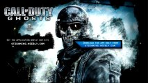Call Of Duty Ghosts Free Playstation 3 PS3 codes Download full official game
