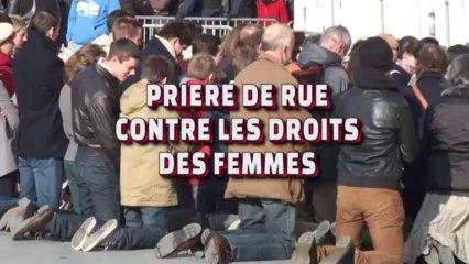 Prière de Rue Contre les Droits des Femmes (Bx, 16.11.13)