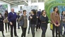 Sherlyn Beaubourg, Vernissage Galerie Tretiakov,  Moscou.  Chansons Françaises Щерлин Бобур  Парижские Истории Дом художников Москва