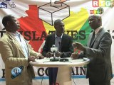 Fodé Mohamed Soumah dans l'émission Paroles de Candidats lors des élections législatives du 28 septembre 2013