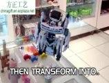 7 in 1 solar space fleet / space station robot kit
