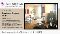 1 Bedroom Apartment for rent - Canal St Martin, Paris - Ref. 4315