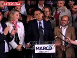 Enríquez-Ominami admite victoria segura de Bachelet y aplaude su tercer lugar en las elecciones