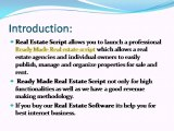Real Estate Script, Ready Made Real Estate Script, real estate software, PHP Real Estate Script