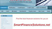 SMARTFINANCESOLUTIONS.NET - I am thinking of declaring bankruptcy, I owe over $100K on credit cards and personal loans, have no assets?