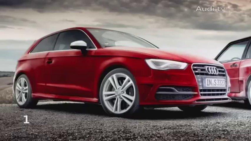 Audi S3 contra Audi Quattro