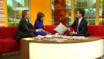 Childcare: Miliband says big banks should pay