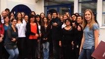 Téléthon 2013 : Visite de Patrick Bruel à l'AFM-Téléthon