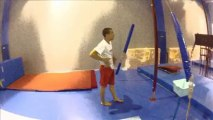 Parkour and Free Running in Play Gym - Side Motion Crew