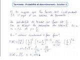 Les lois de probabilité - Exo 6