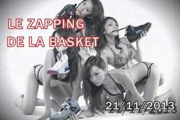 Le Zapping de la Basket du 21  Novembre 2013