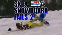 Second Edition of Snowboard & Ski Fails Video Compilation