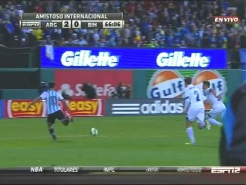 Argentina 2-0 Bosnia (Amistoso)
