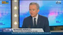 LVMH: nos innovations créent les marchés, Bernard Arnault, dans GMB  19/11 1/2