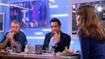 """Carla Bruni-Sarkoy tacle Patrick Cohen dans """"C à vous"""""""