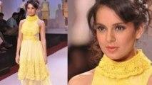Kangna Ranaut Walks The Ramp | Signature International Fashion Weekend 2013