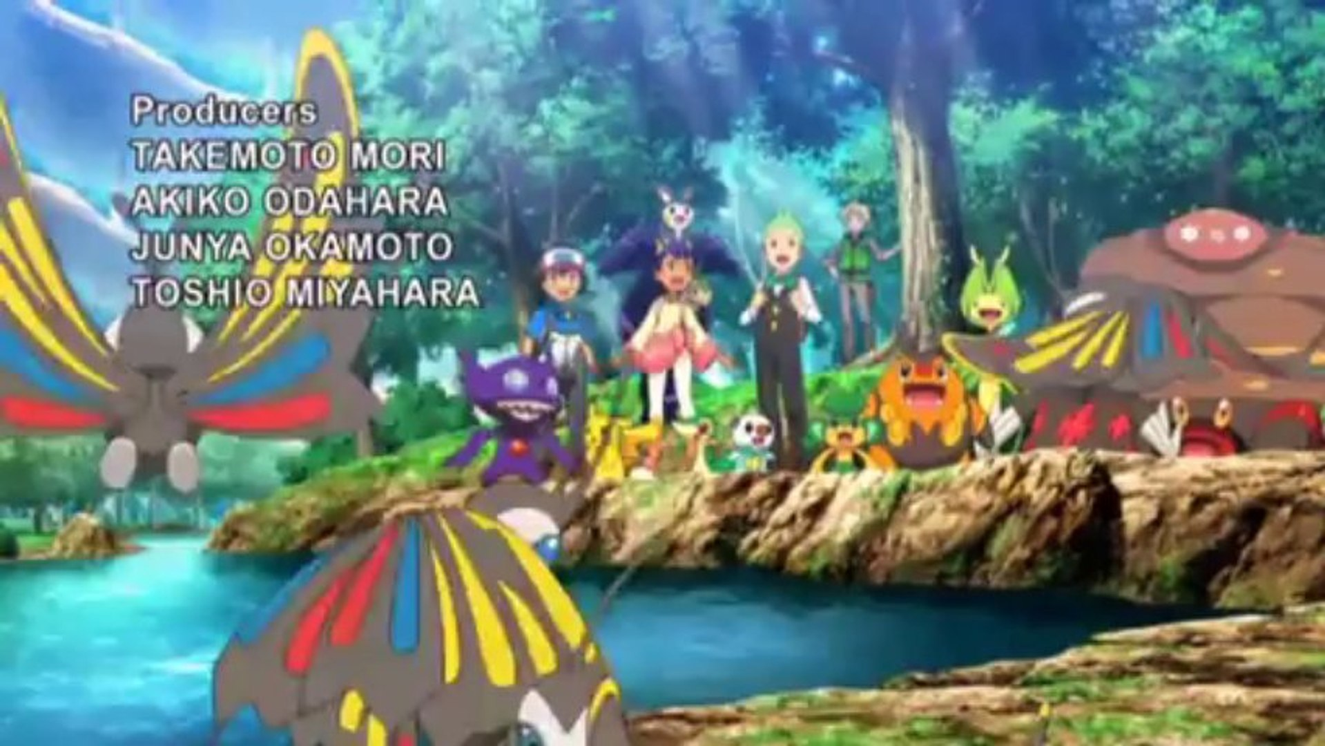 Pokemon Movie 16 Genesect And The Legend Awakened Opening Video Dailymotion