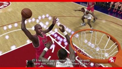 Interview de Michael Jordan de NBA 2K14