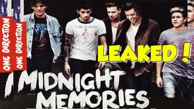 One Direction Midnight Memories LEAKED ONLINE