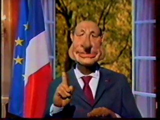 Extrait De l'emission Les Guignols De L'info Decembre 2002 Canal+