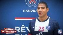 Hand Star Game - PSG Handball - ABALO et NARCISSE répondent aux questions sur les caractéristiques sportives des joueurs de la LNH