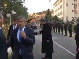 Cumhurbaşkanı Gül, Gümüşhane İl Jandarma Komutanlığı'nı ziyaret etti.