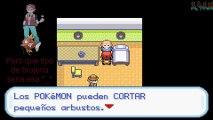 Pokémon Rojo Fuego Cap. 6 en Español - S.S. Anne y Ash encima de un magikarp