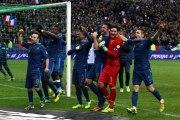France - Ukraine : la joie des Bleus