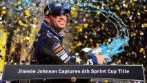 Jimmie Johnson Wins 6th NASCAR Title