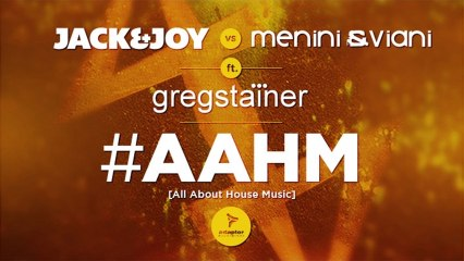 #AAHM (Luca Bisori Mix) [Cover Art] - Jack & Joy vs Menini & Viani ft Greg Stainer