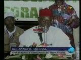 Conférence de presse du député béninois EL HADJ AZIZOU Issa, Chef de la Mission d'observateurs de l'Union Africaine au Caméroun