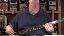Pink Floyd Dark Side of the Moon Bass Cover