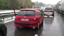 A Saint-Etienne, la neige perturbe les transports