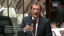 F. Lamy répond à la QAG de J-P. Mallé au sujet du projet de loi ville