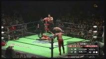 Mohammed Yone & Naomichi Marufuji vs Shinsuke Nakamura & YOSHI-HASHI (NOAH)