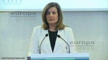 Báñez dice que los autónomos crean 160 empleos cada día