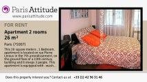1 Bedroom Apartment for rent - Invalides, Paris - Ref. 2961
