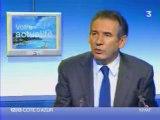 Francois Bayrou France3 Côte d'Azur
