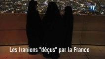 """Les Iraniens """"déçus"""" par la France"""