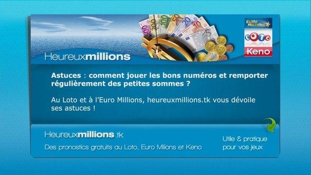 Comment gagner au Loto et à l'Euro Millions en jouant les bons numéros | astuces