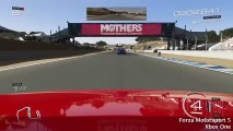 Forza Motorsport 5 - Laguna Seca (Xbox 360 vs. Xbox One)