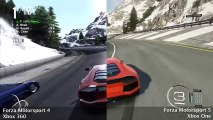 Forza Motorsport 5 - Bernese Alps (Xbox 360 vs. Xbox One)