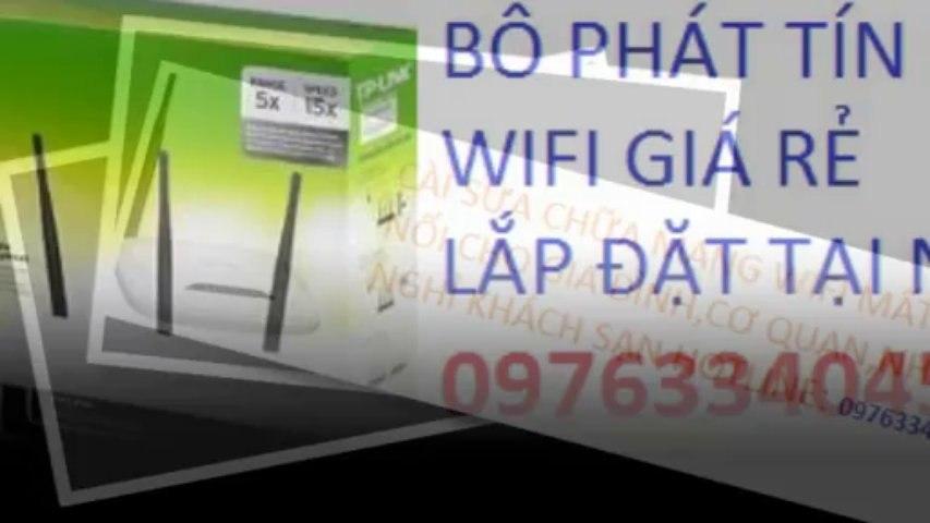 DỊCH VỤ WIFI,LẮP ĐẶT SỬA CHỮA WIFI 0976334045 GIÁ RẺ GẦN NHẤT | Godialy.com