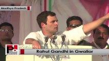 Rahul Gandhi in Gwalior slams BJP govt in MP for stampede