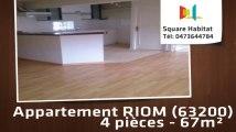 A vendre - Appartement - RIOM (63200) - 4 pièces - 67m²