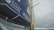 Jour 16 - ERDF-Des pieds et des mains (Class40) - Transat Jacques Vabre 2013