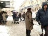 Rhône-alpes: la neige prive d'électricité de nombreux foyers - 22/11