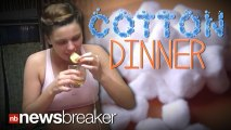 DANGEROUS DINNER: New Diet Has Girls Dipping Cotton Balls in Juice and Eating Them